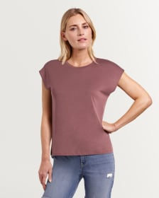 Extended Sleeves Solid Tee