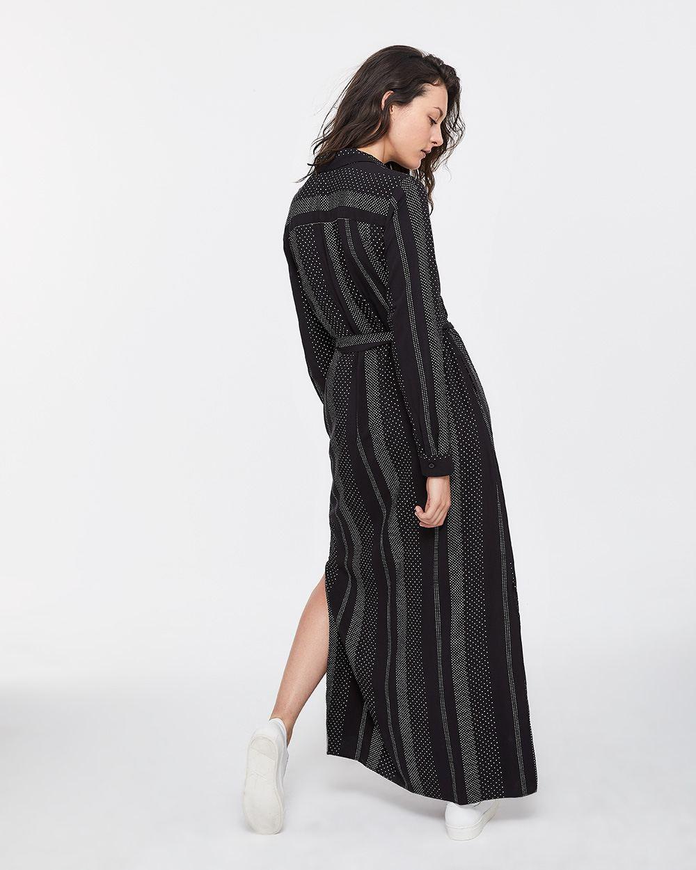 New Sash Maxi Shirt Dress | Regular | Reitmans &LO55