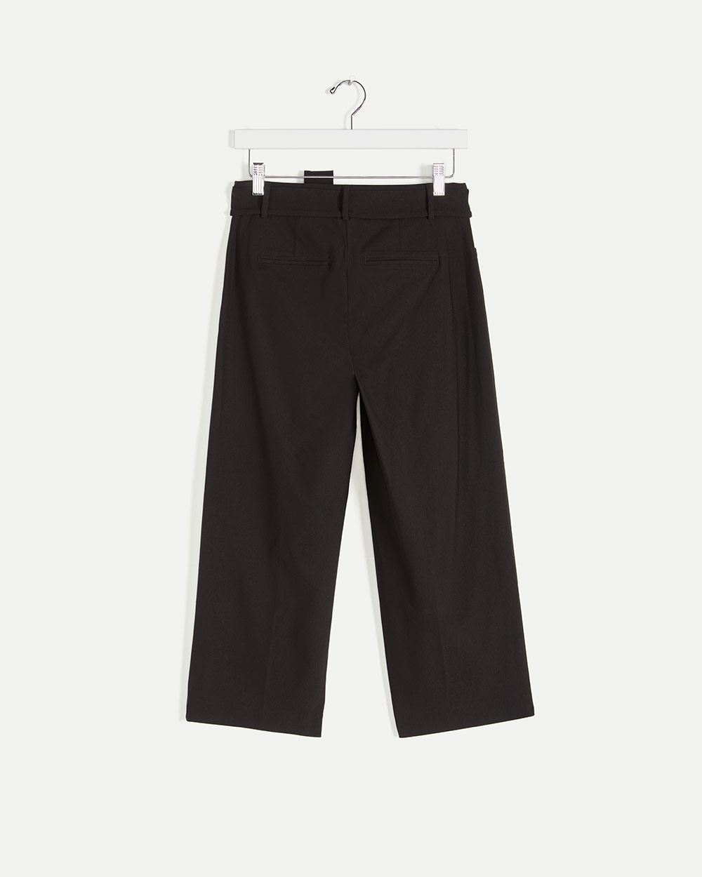 Cropped Pants with Sash The Iconic
