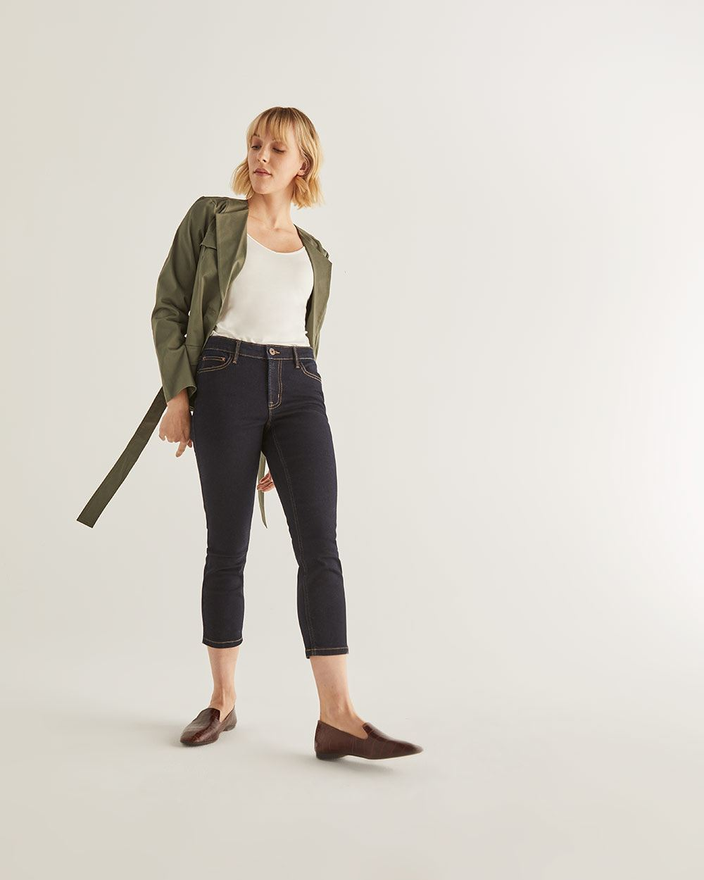 The Insider Cropped Skinny Jeans - Petite