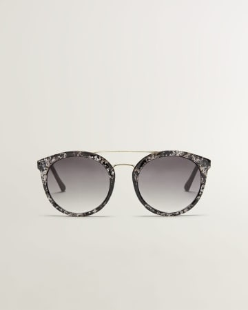 Speckle Pattern Sunglasses