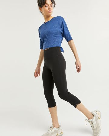 Capri Leggings with Ruching Hyba