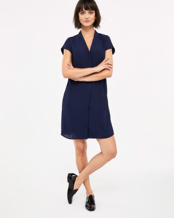 Willow & Thread Solid Shirt Dress