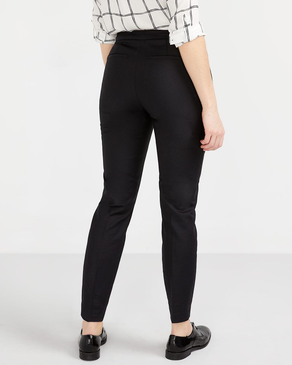 Zip Ankle Pants