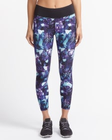Hyba Printed Cropped Legging