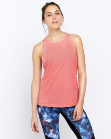 Hyba Airtech Perforated Tank Top