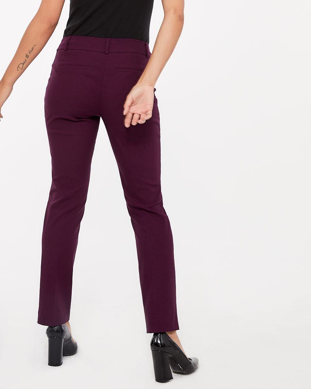 The Petite Iconic Straight Leg Colourful Pants