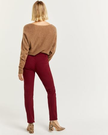 The Iconic Coloured Straight Pull On Pants