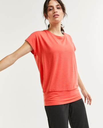 Short Sleeve Tee with Wide Band Hyba