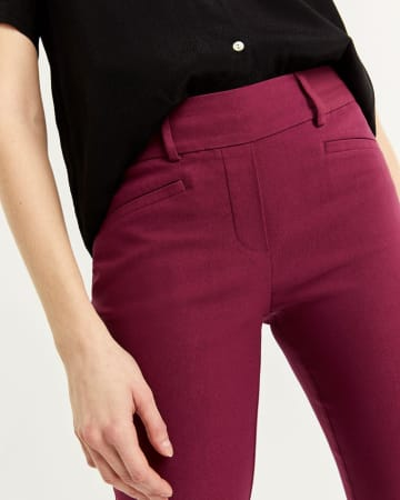 Straight Pull On Pants The Iconic - Petite