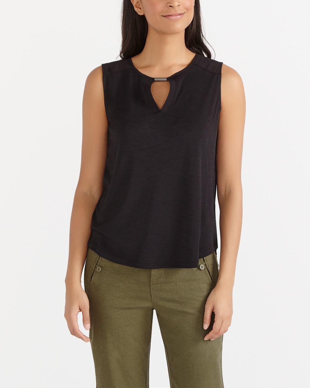 Petite sleeveless tops #13