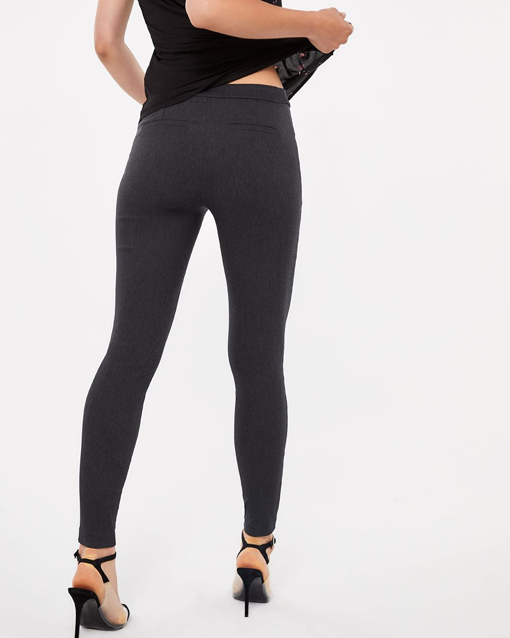 The Tall Iconic Grey Melange Leggings