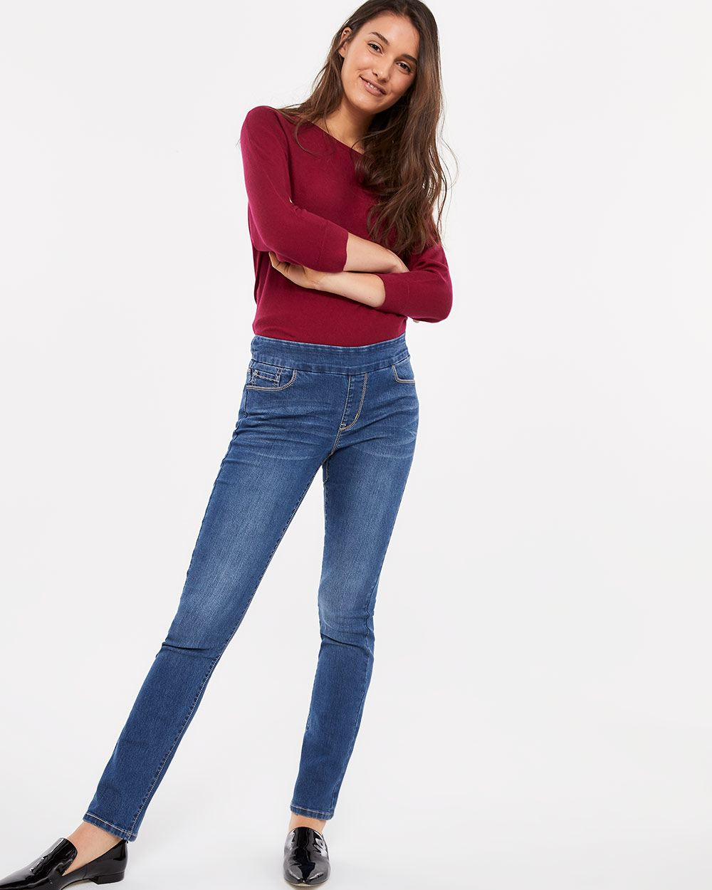 The Tall Original Comfort Straight Leg Medium Wash Jeans