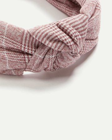 Menswear Pattern Headband