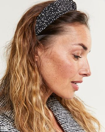 Speckled Knotted Headband