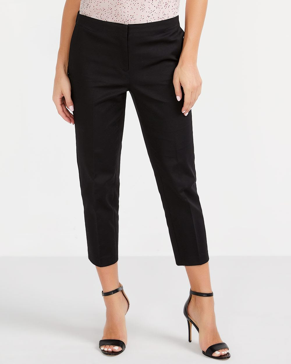 Willow & Thread Cotton Blend Cropped Pants