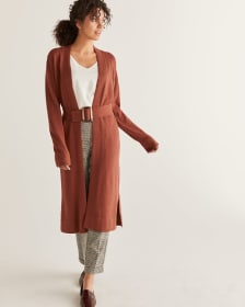 Belted Duster Cardigan