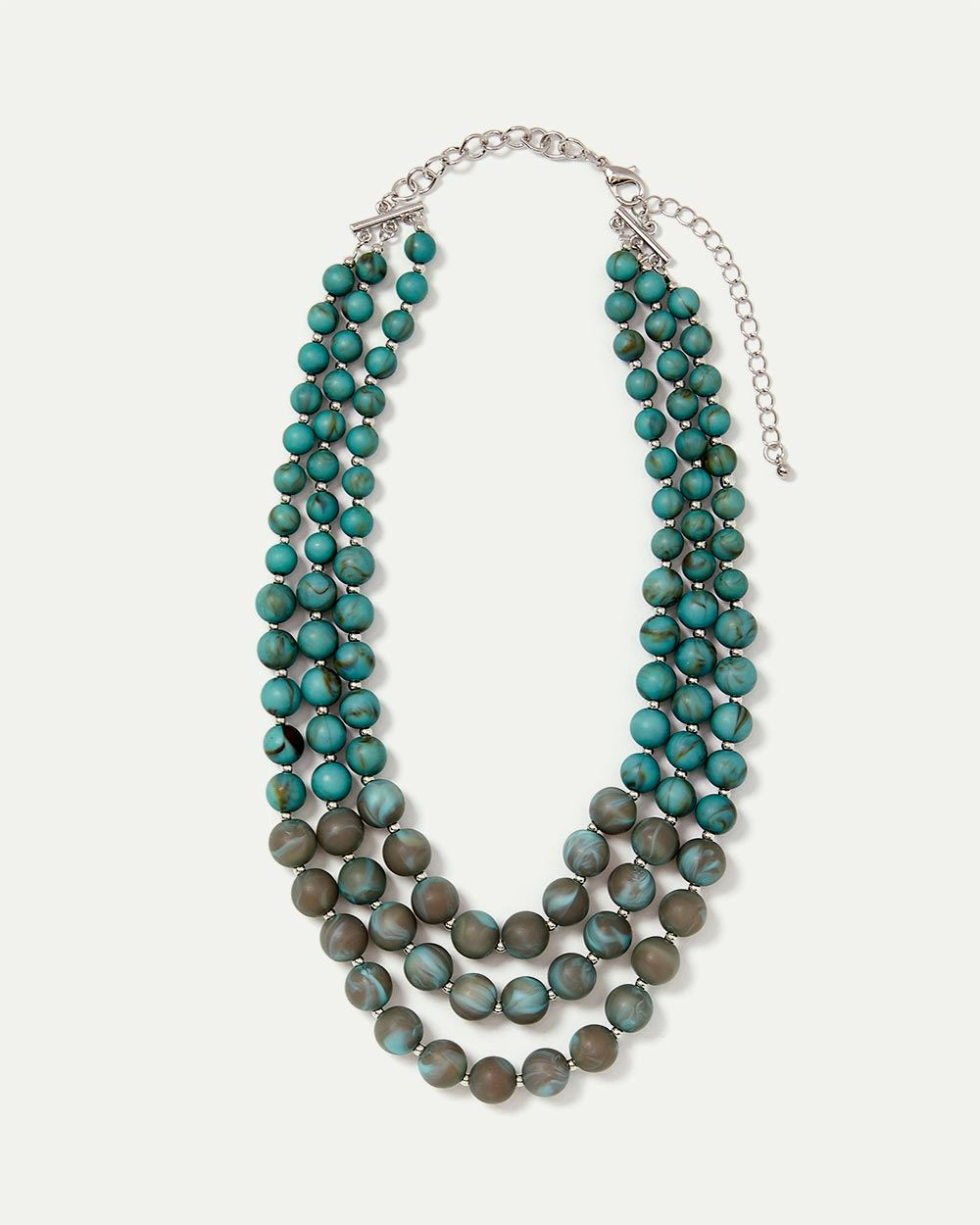 3-Layer Beaded Necklace