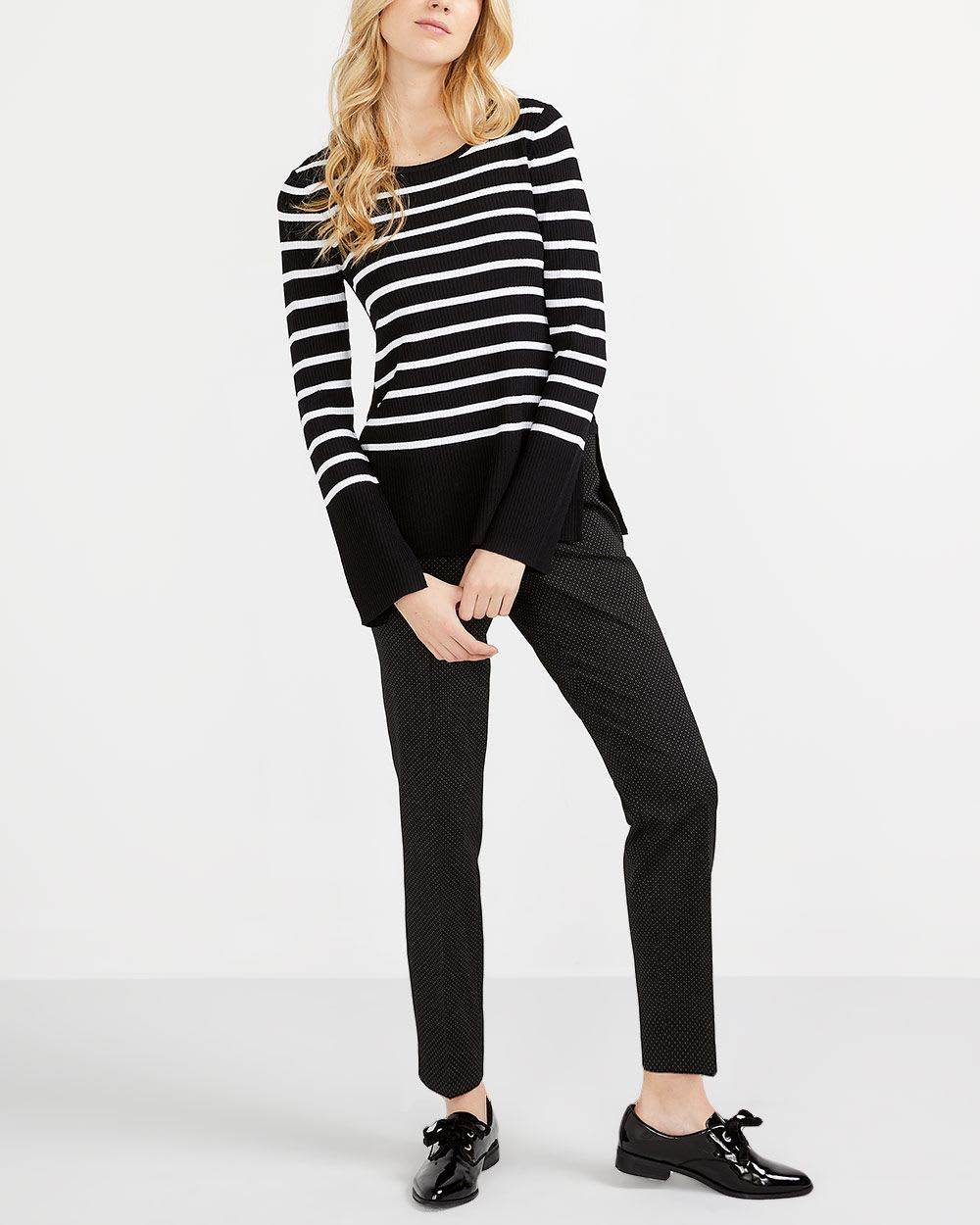 Willow & Thread Striped Sweater