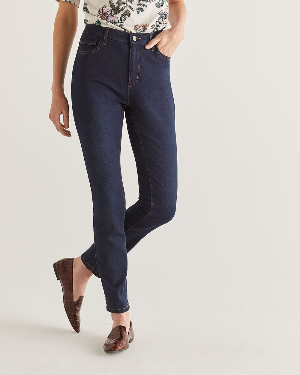 The Tall Signature Soft High Rise Skinny Jeans