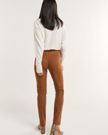 Mid-Rise Straight Pants The Iconic - Petite