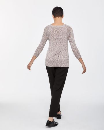 Raglan 3/4 Sleeve Sweater