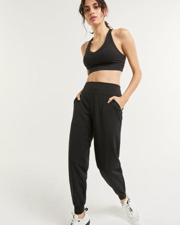 Mix Media Lined Jogger Pants Hyba