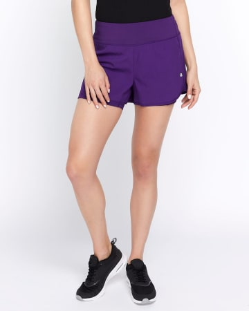Hyba Double Layer Running Shorts
