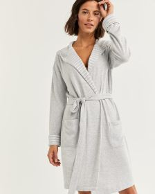 Hooded Robe with Pockets