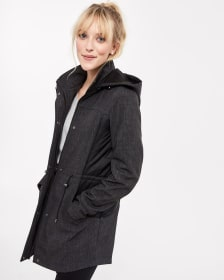 Mix Media Soft Shell Coat