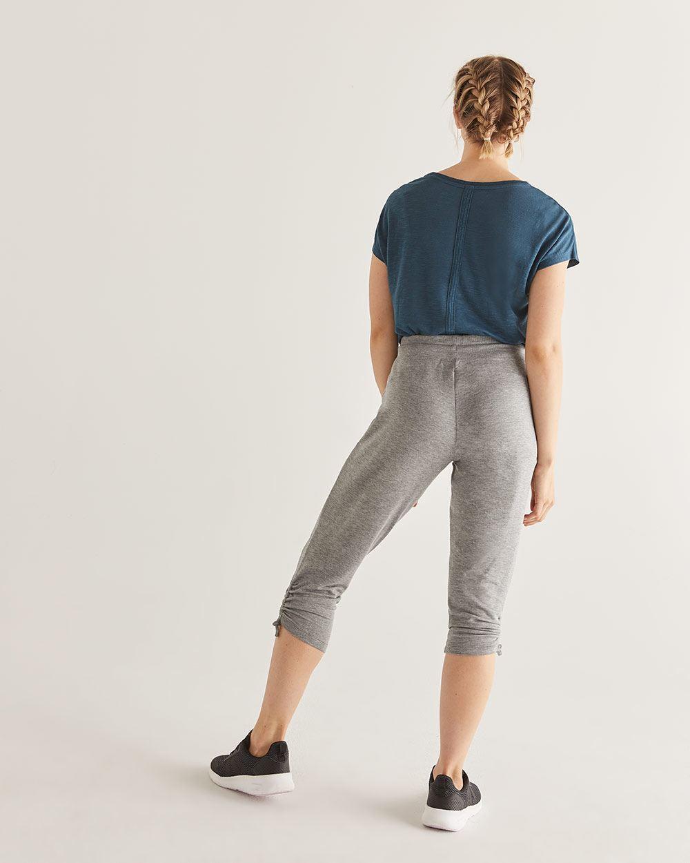 6a570c987ff Hyba Heather Grey Cropped Jogger | Regular | Reitmans