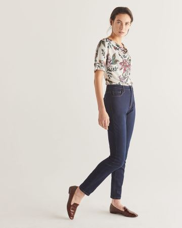 The Signature Soft High Waist Skinny Jeans - Tall