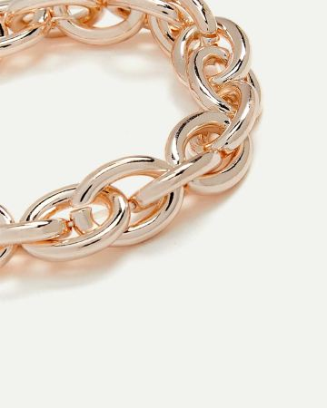 Oval Link Stretch Bracelet