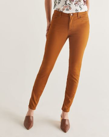 The Coloured Sculpting Skinny Pants - Tall