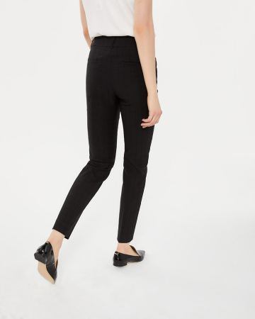 Pantalon à la cheville jacquard skinny L'Iconique Long