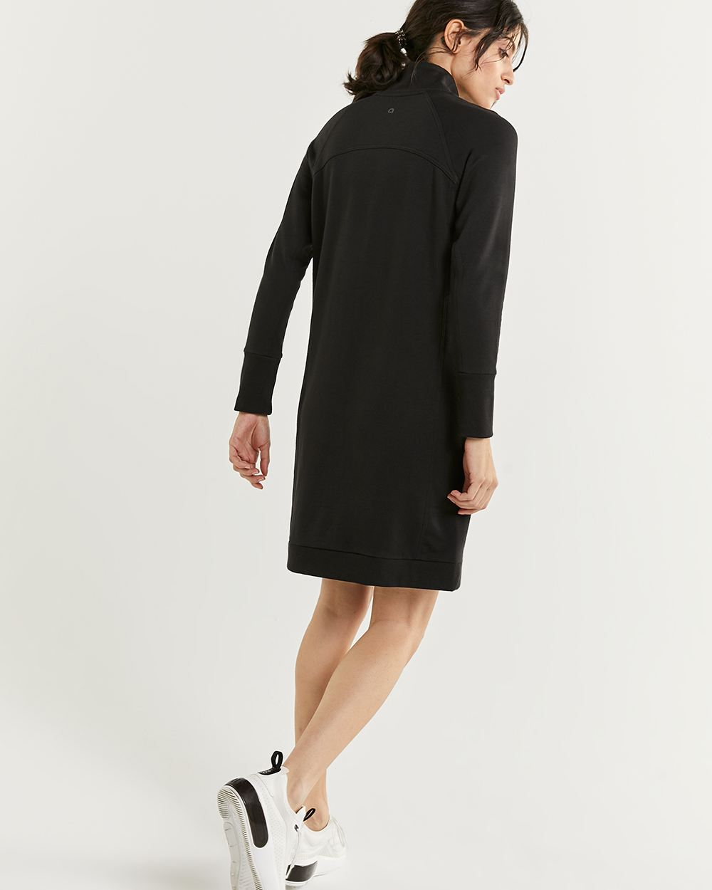 Long Sleeve Mock Neck Dress Hyba