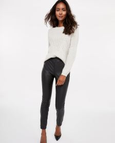 Tall Faux Leather Novelty Leggings