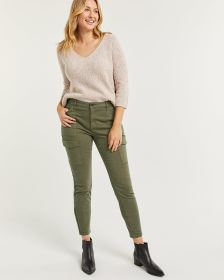Pantalon cargo skinny - Long