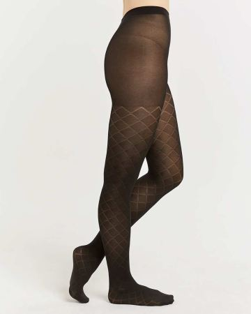 Diamond Black Tights