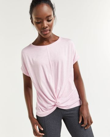 Reversible Tee with Twisted Detail Hyba