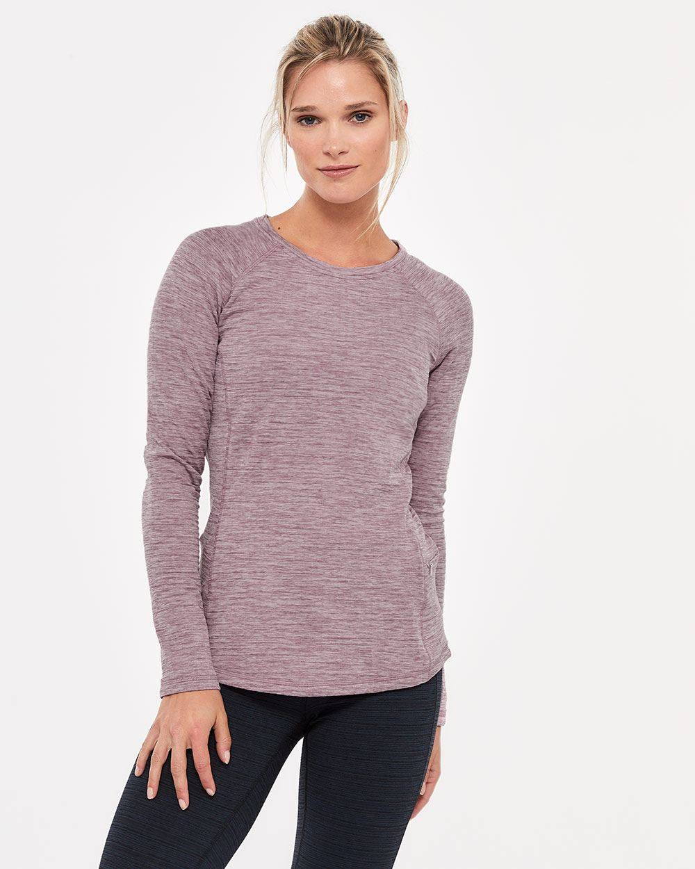 Raglan Sleeve Top with pocket