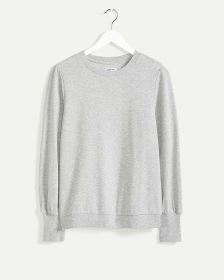Long Sleeve Crew Neck French Terry Tee