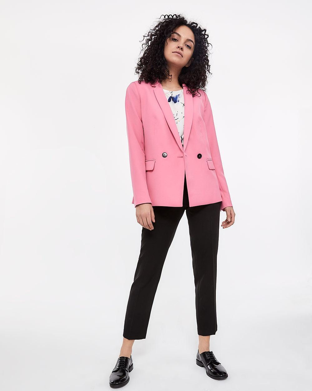 Willow & Thread Double-Breasted Blazer