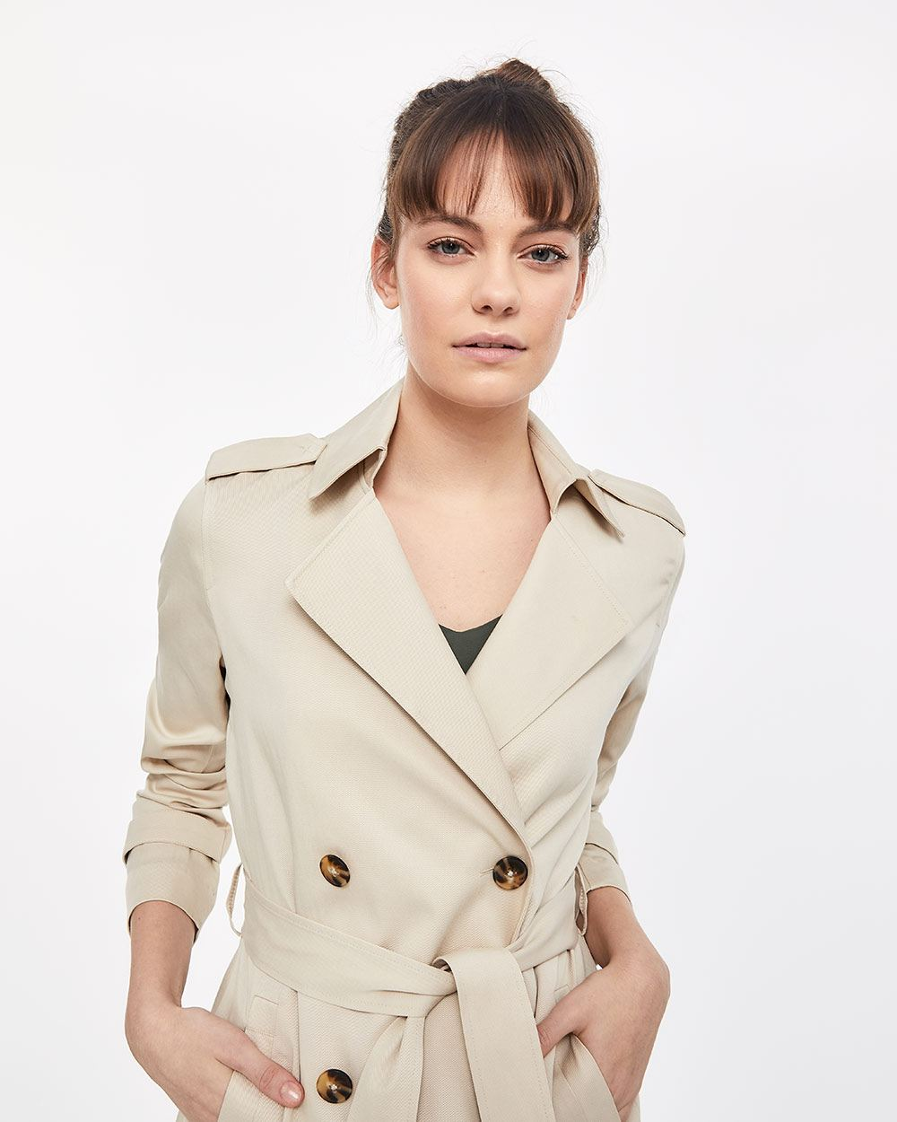Soft and Light Trench Coat