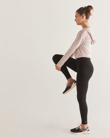 Hyba Black Sculptor Leggings - Tall