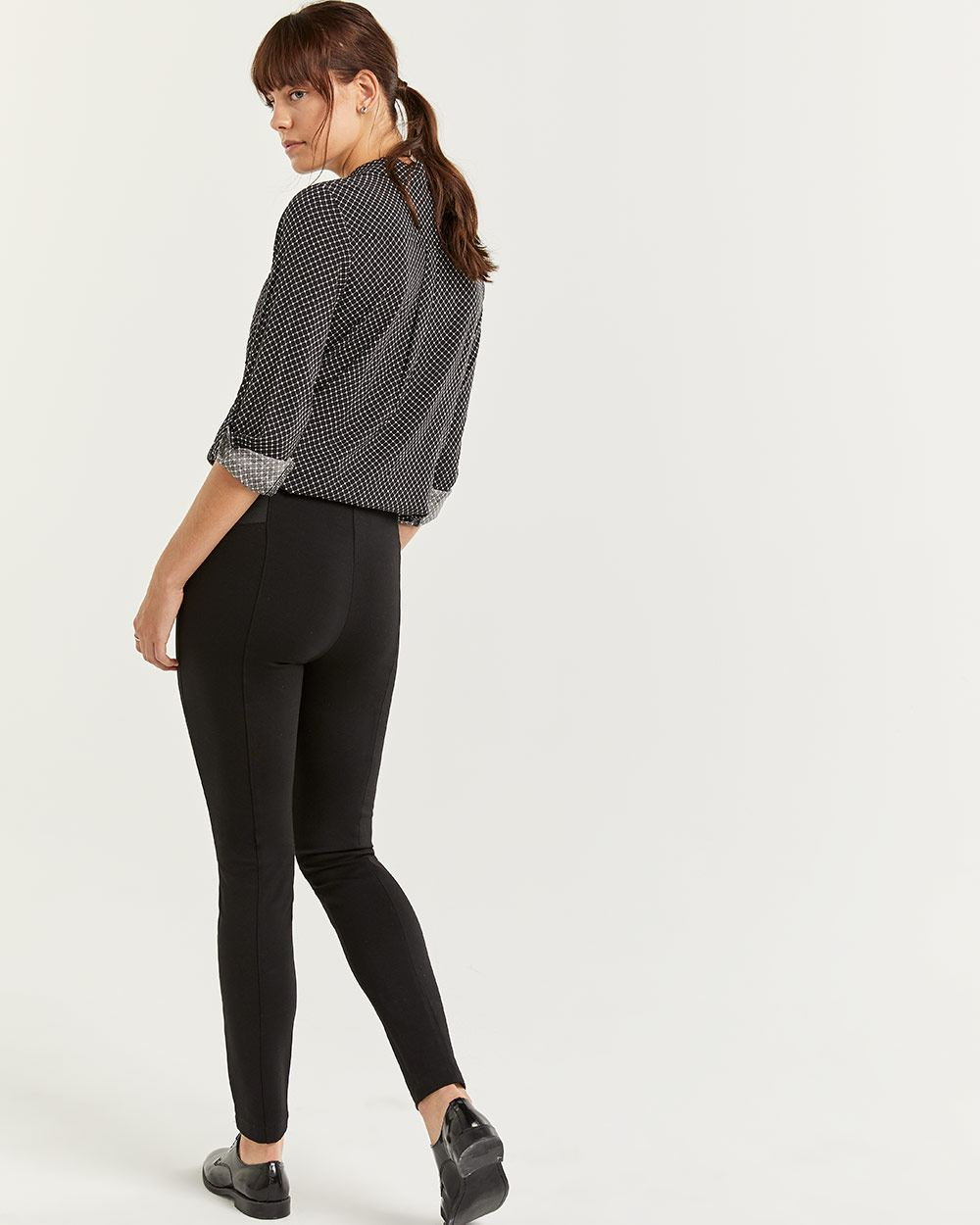 Shaping Leggings with Elastic Side Bands