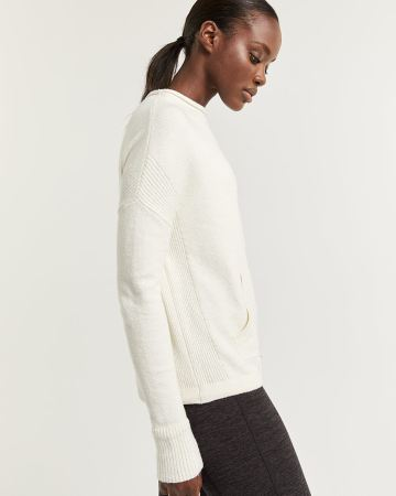Hyba Mock Neck Sweater with Drawstring