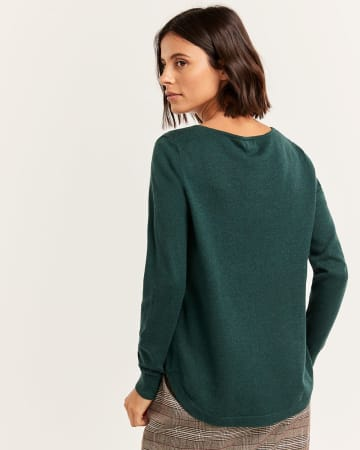 R Essentials Long Sleeve Sweater
