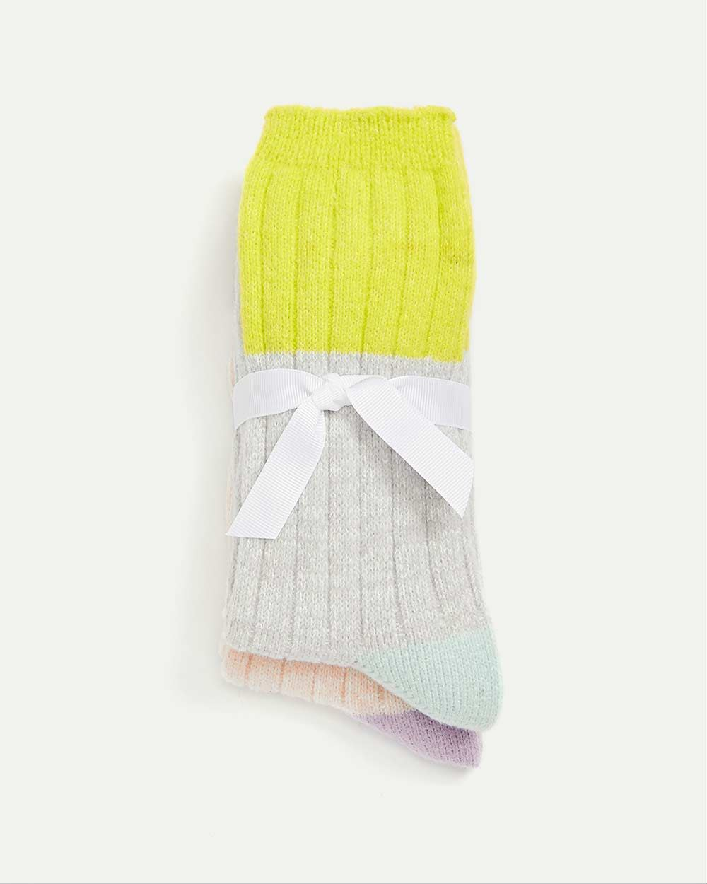 2-Pack Socks - Colorblock