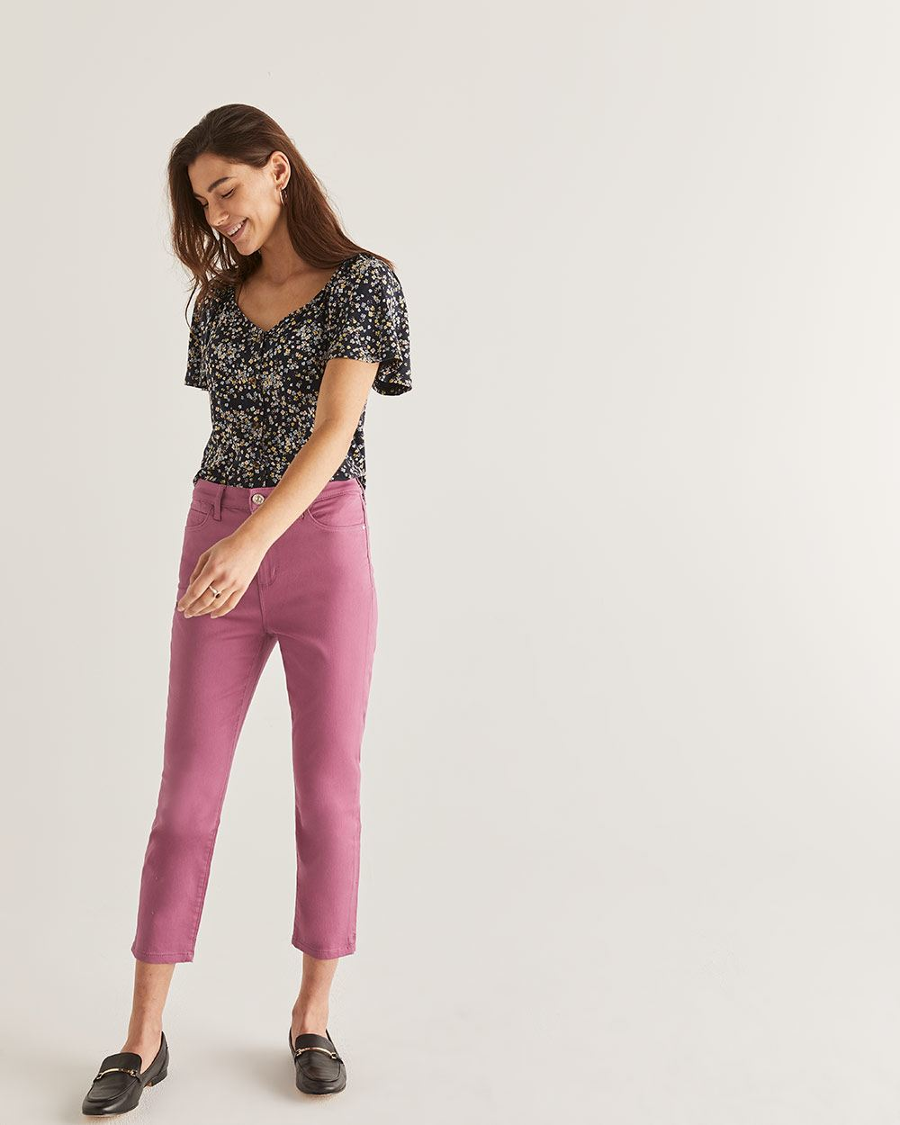 The Signature Soft Cropped Jeans